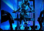 Britney spears entrada campo vip estadio unico de la plata