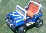 jeep grande a bateria 12v