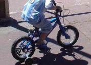Vendo bicicleta varón rodado 12