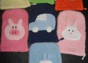 Esponjas infantiles.