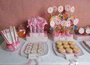 Candy bar fiestas infantiles golosinas personalizadas