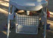 Vendo silla  de comer para bebé poco uso !!