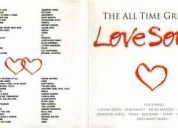 The all time greatest love songs