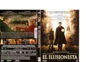 4 dvd originales el ilusionista , crash + el orfanato 2 dvd