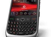 Blackberry curve 8900 libre + accesorios