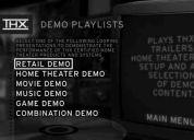 Thx demo disc ii - para calibrar audio & video en tu home theater