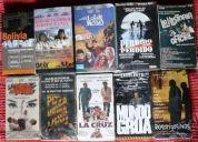 Lote de 23 peliculas - videocassettes - vhs - cine nacional