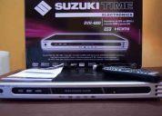 Dvd suzuki time hd 1080p + cable hdmi nuevo y rca - excelente estado