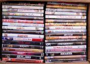 Lote de 71 dvd previstos c/cajas y carátulas. muy buen estado