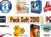 Súper pack de software 2010