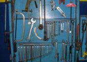 Herramientas y maquinas para taller mecanico automotor