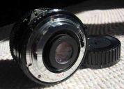 Nikon soligor 28 mm , f2.5 manual