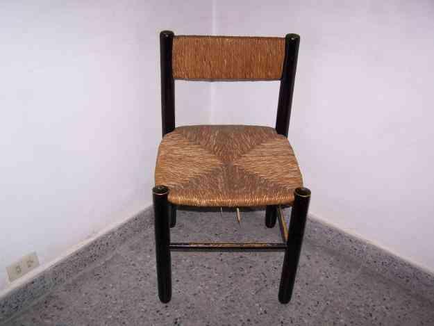 4 sillas madera y mimbre saavedra doplim 4914 - Sillas de mimbre ...