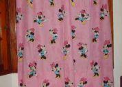 Vendo cortinas habitacion de minnie marca piÑata