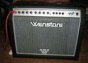 Amplificador wenstone 60w + pedalera profesional