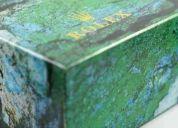 Estuches rolex de madera forrados en cuero con caja grabados