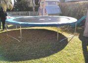 cama elastica, trampolin, saltarin 3.05mt sin proteccion de red! saltocrazy!!!