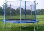 Cama elastica completa con red de proteccion