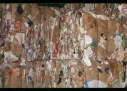 Carton corrugado en fardos. compra mayorista
