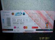 Vendo 2 entradas popular norte, cuartos de final. argentina & uruguay