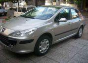 Peugeot 307 nafta 2007 tricuerpo