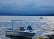 Lancha bermuda caribean permuto por moto de agua