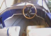 Vendo lancha con motor tohatsu 35 hp