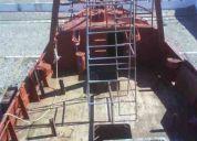 Vendo barco pesquero de 11,90 metros, nuevo, 340 cajones de bodega, arrastre completo