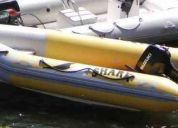 Semirigido shark 4,30 con suzuky 30hp  (mod.2010)
