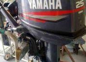 Motor yamaha 25 hp fuera de borda aÑo 2000 impecable oportunidad