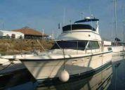 Boat motor cruiser yacht