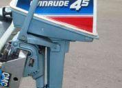 Evinrude 4.5 hp muy bueno ideal pescadores tanque interno economico y potente