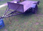 Vendo trailer para cuatri o tambien se hace carro