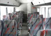 Butacas micro omnibus colectivo asientos reclinables