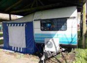 Vendo casa rodante lomas camping