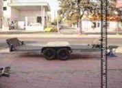 Vendo trailer 2 ejes para 2 toneladas