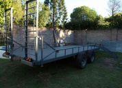 Trailer para camioneta y cuatri