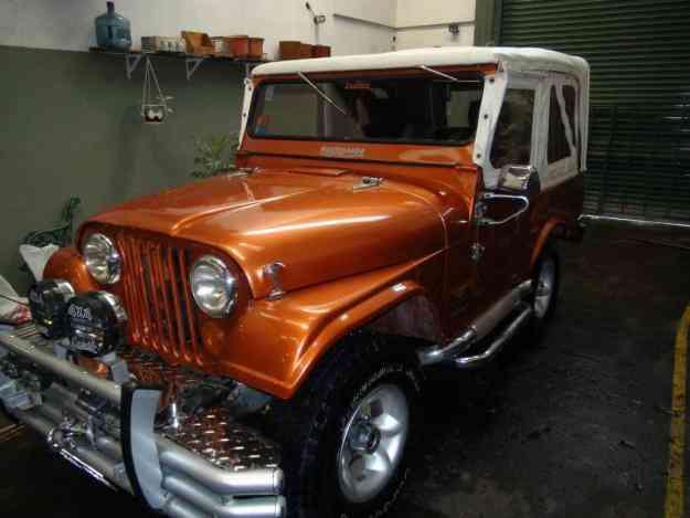 Jeep Ika 1962 Con 221 Restaurado A Nuevo     Para