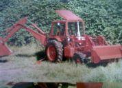 pala retro excabadora semi nueva 90 hp-4x4
