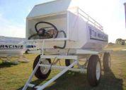Tanques acoplados para combustibles-agro,volcador para pasto