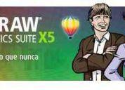 Corel draw graphics suite x5 -  dreamweaver cs4 - cs5. venta. todos los programas