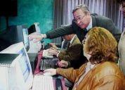 Clases aceleradas de computacion para adultos y gente de la tercera edad