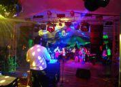servicios  de discoteca para fiestas sociales y empresariales