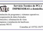 servicio tecnico para computadoras