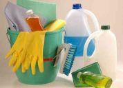 Limpieza y mantenimiento, empleadas domesticas servicios eventuales. 43072813