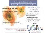 Conferencia abierta -  bioetica de la conciencia ciudadana