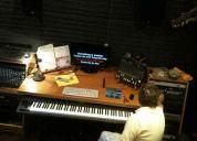 Estudio de grabación en zona norte