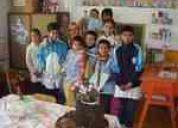 Solidaridad para madrina de escuela rural