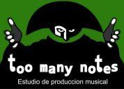Clases de produccion musical