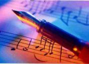 Clases de armonía, arreglos y composición musical